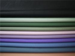 La moda PU la impresión de prendas de cuero materiales para las faldas de cuero Ropa