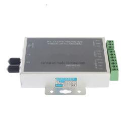 High-Speed-S232/RS485/RS422 3 In1-Glasfasermodemkonverter für Industrieanwendungen, RS485/RS422/RS232-3in1-Glasfasermodem zu Ethernet