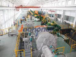 La tige de cathode de cuivre à haute efficacité de la coulée continue et de la ligne de production de roulement