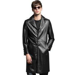 Os homens OEM genuíno formal odres de vestuário de couro