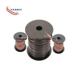 Glasvezel geïsoleerdet de uitbreidingskabel van het Thermokoppel PTFE/FEP/(type JX)