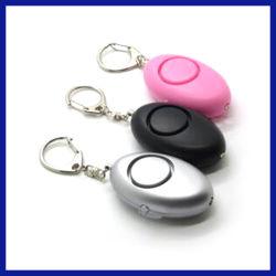 De Emergencia portátil Mini Linterna Llavero Alarma Personal (SYSG-525)
