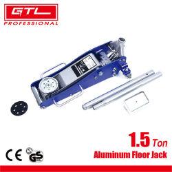 Hot Sale 1,5 tonne Outil de réparation auto Jack de levée rapide aluminium / cric hydraulique en acier avec double pompe (38401107)