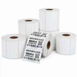 Hoogwaardige diepgevroren Thermisch synthetische labels voor bevroren rundvlees, verse groenten, fruit, diepgevroren transport