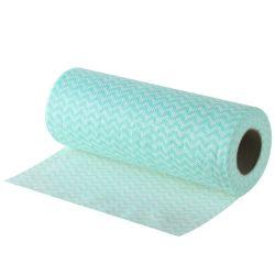 مواد خام مخصصة 40GSM قماش مزركج من القطن غير منسوجة للاستخدام الرطب حلأ
