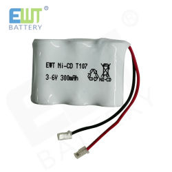 Abwechslung NiCd drahtloses Telefon-Batterie 3.6V 300mAh