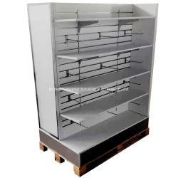 CY032-fabrica China de moderno diseño personalizado el marco de metal supermercado Expositor estantería de madera