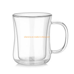 500ml16.5Shenone oz gran vacío claro barata bebiendo Cerveza Agua vino Jarra de empuñadura de la copa de cristal