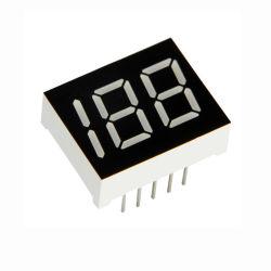 Tres dígitos de 0,5 pulgadas pantalla LED de siete segmentos