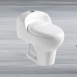 Badezimmer Keramik Sanitär Ware Siphon Tragbare Toilette Ein Stück Wc.