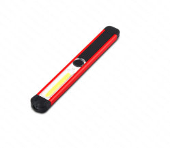 USB de alto brillo LED linterna recargable con imanes potentes