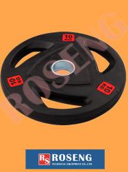 Домашний спортивный зал резиновые Barbell диски для спорта спортивные товары