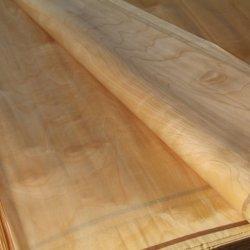 D et E Grade 0.26mm placage de parement de bouleau pour le mobilier du contreplaqué