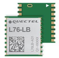 Quectel L76Lb GnssのモジュールはGPS、Glonass、BeidouおよびQzssの並行レセプションをサポートする。 33の追跡チャネルを使って