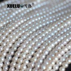 8-9mm perlt weißer kultivierter die Perlen-Zeichenkette-materieller Frischwassergroßverkauf, Zhuji (XL180088)