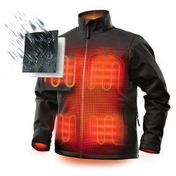 Дешевые 4XL мужчин на потепление питание от аккумулятора с подогревом куртки гильзы одежды для мотоцикла