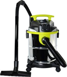 Nat Dry 3 in 1 multifunctionele roestvrijstalen tank van 4 gallon/5 gallon/15 l/20 liter Stofzuiger voor huisreiniging met Power Tools Polisher Aansluiting van de machine