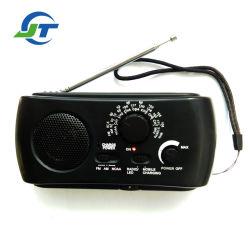 전화 충전기와 LED 토치 태양 다이너모 라디오를 가진 비상사태 태양 라디오