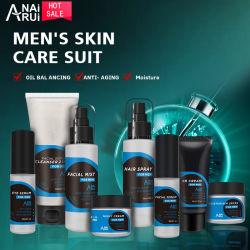 O OEM/Cuidados de pele ODM homens enfrentam Lavar Toner Spray Hidratante Pele homens homens orgânicos do Kit de conjunto de cuidados com a pele rótulo privado