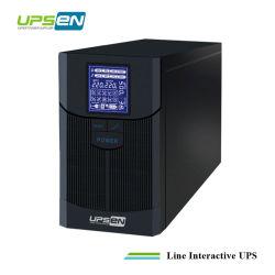 Zeile interaktive UPS UPS-1K-5kVA mit reinem Sinus-Welle ausgegebenem großem LCD-Bildschirm für Haus