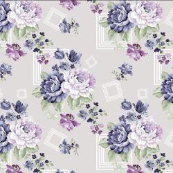 도매는 복장 일본 옷을%s 디자인 꽃 인쇄 실크 직물을 실제적으로 주문을 받아서 만들었다