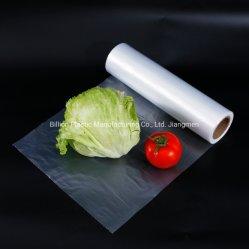 Aliments Légumes Fruits d'emballage en plastique à la main transporteur Shopping sac poubelle Corbeille de la foutaise de l'emballage