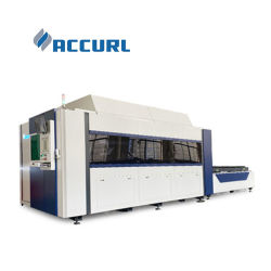 Accurl Smart Line 시리즈 3015 4020 CNC 섬유 레이저 절단 기계