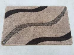 Vierecks-Teppich-Badezimmer-Teppich-nicht Beleg-Toiletten-Dusche-Bad-Matten-Bad-Raum-Matten-und Toiletten-Matten-Set