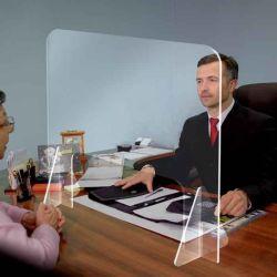 Таблица щитка защиты ясно акриловый Sneeze экранов для управления