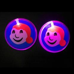 Modifica d'ardore di plastica di identificazione del distintivo di nome di illuminazione del LED