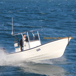 De Vissersboot van de Glasvezel van Liya 7.6m/25feet met Buitenboordmotor