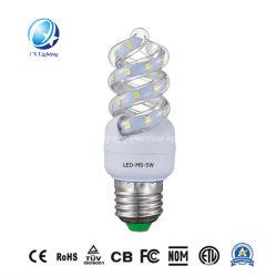9W 12W 16W 20W tipo espiral completo de iluminación LED Lámpara de ahorro de energía LED Bombilla LED