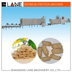Populares tecido automática de proteína de soja máquina Linha de processamento