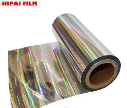 De gemetalliseerde Holografische Film van het Huisdier voor Gelamineerd Document en Druk