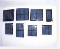 Epoxidharz-/Pet-Miniabnehmer-Notwendigkeits-Größen-Sonnenkollektoren für Solarlicht