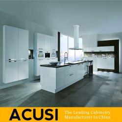 가정 가구 부엌 제품 현대 새로운 디자인 높은 광택 있는 래커 부엌 찬장 가구 (ACS2-L18)