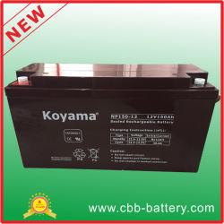 SLA de armazenamento da bateria do MGA 12V150ah para Solar, Sistema de Backup