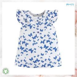 Desgaste do lactente orgânicos suave ao redor do pescoço de vestuário para bebé
