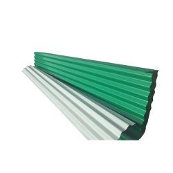 Покраска Prepainted PPGI металлической крышей гофрированные стальные дом листа крыши