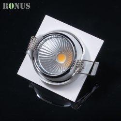 Des Europa-Marke vertiefter LED Gitter-Licht-Lampen-Decken-Innenbeleuchtung-Scheinwerfer PFEILER Downlight Farben-Messingaluminium-5-16W