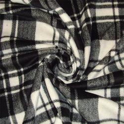 ジャケットの衣服ファブリック織布の衣類のためのヘリンボンによって点検される羊毛ファブリック