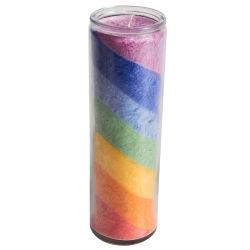 Día 7 velas de cristal barato al por mayor de 7 días de las velas