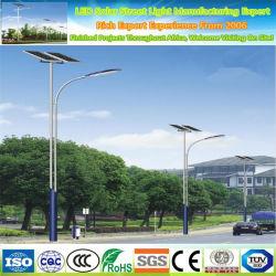 80 واط، 100 واط، 120 واط، مصباح Soalr للإنارة الخارجية، عمود LED خفيف الوزن في الشارع