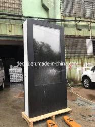 65inch volledige Vloer HD die OpenluchtLCD Digitale Signage van de Kiosk van de Reclame van de Media Player/LCD van de Reclame voor Aanraking bevinden zich