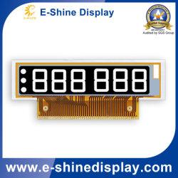 عرض الحروف المخصصة/ورق إلكتروني انتقاص/EPD/EINK في شاشة عرض رفيعة بالأبيض والأسود