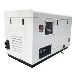 White Ccfj9j de la cabina de insonorización de fase única marina de 12 kVA soldador silencioso Generador Diesel