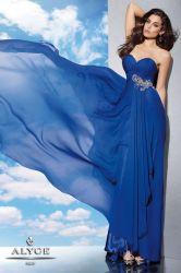 Longue robe de soirée une ligne de bijoux en mousseline robe mariage robe de prom Mesdames