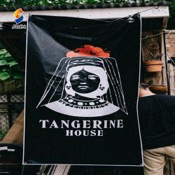 Barato publicidade exterior tecido suspensas impressos Banners Bandeira personalizada