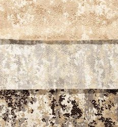 Bordados de poliéster Jacquard como a janela padrão de tecido de Cortina