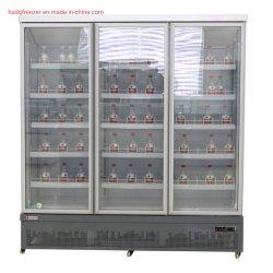 D'un réfrigérateur/refroidisseur avec des roues pour les Boissons Boissons commerciaux/réfrigérateur